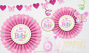 Baby Minnie Mouse Baby Shower Theme by Baby Shower Decorations For Girls Party City