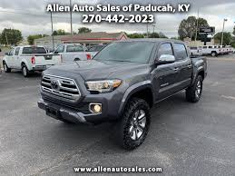 Used 2018 Toyota Tacoma For Sale In Paducah, KY 42001 Allen Auto Sales Greenville Used Toyota Tacoma Vehicles For Sale Kittanning 2002 By Owner In Mount Vernon Wa 98273 2019 Gets Small Price Increase Autotraderca 2017 Trd Sport Double Cab 5 Bed V6 4x4 Automatic West Plains 2016 First Drive Autoweek For By In Virginia Russeville Ar 5tfaz5cn8hx047942 2018 Offroad Review An Apocalypseproof Pickup