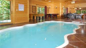 4 Bedroom Cabins In Pigeon Forge by New Cabin 4 Gatlinburg Cabins With Indoor Private Pools Inside