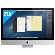 ordinateur apple de bureau achat apple imac 21 5 mf883f a ordinateur de bureau intel i5