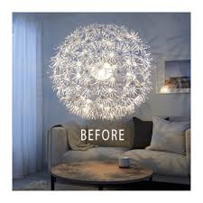 Hanging Chain Lamps Ikea by Alternative Style For The Maskros Lamp Ikea Hackers Bloglovin U0027