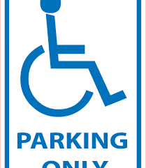 Printable Handicap Bathroom Signs by Wonderful Handicap Parking Symbol Photo For Handicap Parking