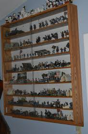 Custom Wall Mounted Display Cases For Collectibles