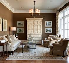 Neutral Living Room Colors Traditional With Area Rug Side Tables And End