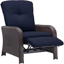 Cambridge Corolla 1-Piece Wicker Outdoor Reclinging Patio Lounge Chair With  Navy Cushions Phi Villa Outdoor Patio Metal Adjustable Relaxing Recliner Lounge Chair With Cushion Best Value Wicker Recliners The Choice Products Foldable Zero Gravity Rocking Wheadrest Pillow Black Wooden Recling Beach Pool Sun Lounger Buy Loungerwooden Chairwooden Product On Details About 2pc Folding Chairs Yard Khaki Goplus Wutility Tray Beige Headrest Freeport Park Southwold Chaise Yardeen 2 Pack Poolside