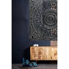 schwarz orientalisches wandbild wanpannel als wanddekoration