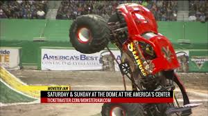 Monster Jam' Mar. 3-4 At The Dome At America's Center | FOX2now.com Monster Truck Insanity Tour In Tooele Presented By Live A Little Krysten Anderson Carries On Familys Grave Digger Legacy Jam At The Bbt Center August 11 12 Macaroni Kid World Finals Xviii Details Plus A Giveway Enjoy Utah Giveaway Family 4pack We Loved Trucks Not My Thing Or Is It Blogs Websites Allnew Earth Authority Police Nea Oc Mom Blog 2016 Review Lovebugs And Postcards Trucks Will Rip Tear Wauchope Showground