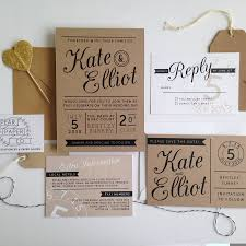Kraft Paper Wedding Invitations And Get Ideas To Create The Invitation Design Of Your Dreams 1