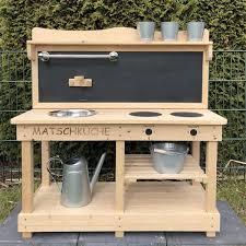 sun matschküche outdoor küche aus holz kinderküche aus holz spielküche für draussen