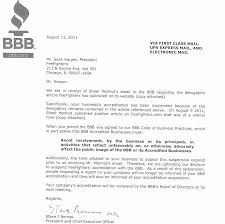 bureau company criticize the better business bureau and they ll pull your