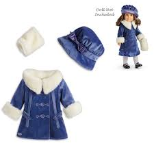 Amazoncom American Girl Rebeccas Winter Jacket For 18