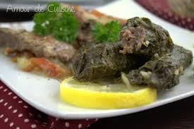 cuisiner des blettes fraiches feuilles de blettes farcies recette libanaise amour de cuisine
