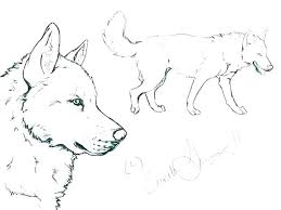 Husky Coloring Pages Of Huskies Dog