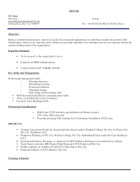 Profile Title Example Best Resume Examples Template Nanny