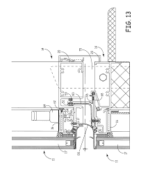 Ykk Unitized Curtain Wall by Patent Us7987644 Curtainwall System Google Patents