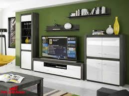 feldmann wohnen wohnzimmer set sevilla 5 tlg mit hochglanz fronten
