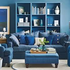 living room with navy blue walls light blue living room with