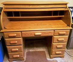 Ethan Allen Roll Top Desk by Estate Auction Van Adkisson Auction Service Llc