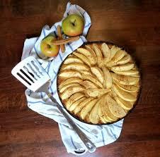apfelkuchen low carb mit kokosmehl
