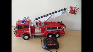 100 Fire Trucks Toys TONKA TOYS GIANT Remote Control FIRE ENGINE WORKING With Motorized