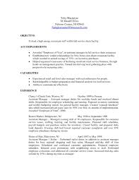 Download Restaurant Manager Resume Objective Free Of Fine Examples Pattern