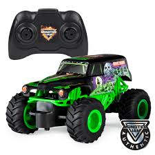 100 Monster Trucks Rc Jam Official Grave Digger Remote Control Truck 1