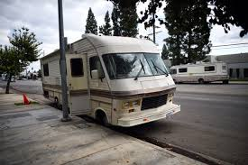 LA's Underground Homeless RV Rental Market Is 'predatory' And Needs ... Truck Campers Bed Adventurer Eagle Cap Ben Vaughn Flies The Coop And Rolls Out Southern Kitchen Food Bloodmobiles For Sale Customized Mobile Blood Dation Vehicles Peterbilt Custom 379 Rv Petebilt Rv Pinterest Pdonohoe Hallmark Everest Camper For In Ca Swinger Slide Illinois No Reserve 2015 Fourwheel Hawk Front Dinette New Aug California Cruise America Large Rental Model