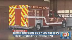 100 Emergency Truck The Phoenix Fire Department Built A Frankenstein Ford F350 Fire