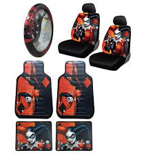 Betty Boop Seat Covers And Floor Mats new harley quinn car truck front seat covers u0026 floor mats