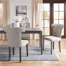 Madison Park Zemke Grey Dining Chair Set Of 2 - 24