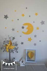 stickers décoration chambre bébé stickers décoration chambre enfant fille bébé garçon lune et étoiles