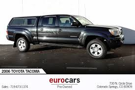 2006 Toyota Tacoma Stock # E1019 For Sale Near Colorado Springs, CO ...