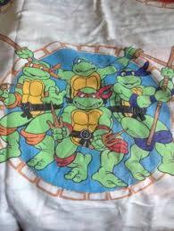 Ninja Turtle Twin Bedding Set by Teenage Mutant Ninja Turtles Twin Bed Sheet 1980 U0027s Tmnt Vintage