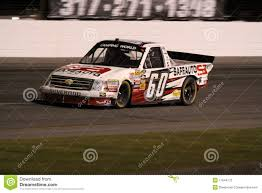 Narain Karthikeyan NASCAR Truck Series 60 ORP Editorial Stock Photo ...