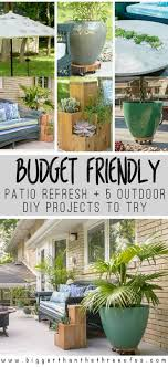 Budget Friendly Patio Refresh 5 Outdoor Projects For You To Try