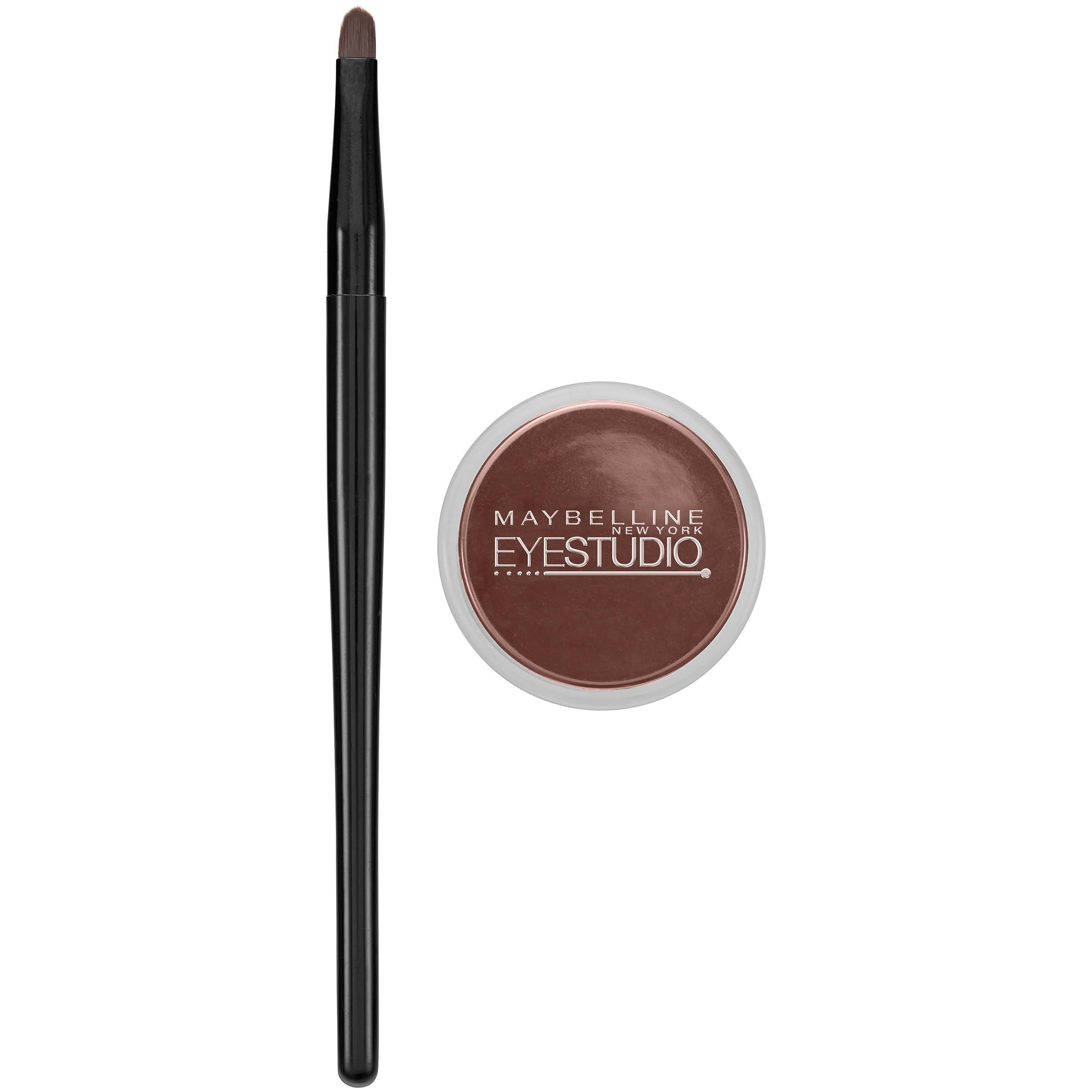 Maybelline New York Eye Studio Lasting Drama Gel Eyeliner - 952 Brown