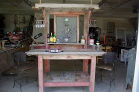 Wooden Patio Bar Ideas by Triyae Com U003d Rustic Backyard Bars Various Design Inspiration For