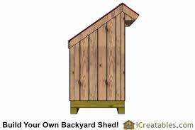 4x6 Outdoor Storage Shed by 4x6 Firewood Shed Plans Lean To Shed Outdoor Backyard Shed