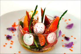 dressage des assiettes en cuisine symphonie colorée en légumes majeurs et notes visions gourmandes