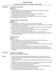 Photographer Resume Samples   Velvet Jobs Writing Finance Paper Help I Need To Write An Essay Fast Resume Video Editor Image Printable Copy Editing Skills 11 How Plan Create And Execute A Photo Essay The 15 Videographer Sample Design It Cv Freelance Videographer Resume Sample Samples Mintresume 7 Letter Setup Template Best Design Tips Velvet Jobs Examples Refference