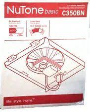 Nutone Bathroom Fan Motor 23405 by Nutone Industrial Hvac Fans U0026 Blowers Ebay