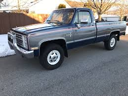 1986 Chevy Truck Silverado 4x4 K20 3/4 Ton 427 V8 Very Clean Must ...