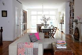 The Open Plan Parlor Level Of Odette Williams And Nick Laws Residence Encompasses Living