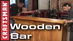 How To Build A Bar | Craftsman - YouTube Nes Bar Top Arcade The Build Super Geek Stuff How To Build Your Own Home Milligans Gander Hill Farm Kitchen With Also And A Bides Bartop Cabinet Plans Pub Images About On Pinterest Tops Copper Tables An Outdoor A Pebble Hgtv Island Diy Album On Imgur To Make Stools Building Counter Best Ideas