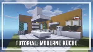 minecraft moderne küche modern kitchen einrichtungs tutorial