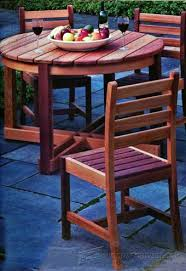 folding table plans outdoor furniture plans u0026 projects