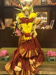 Varalakshmi Vratham Decoration Ideas Usa by 2017 Varamahalakshmi Ammavaru Decoration Varamahalakshmi