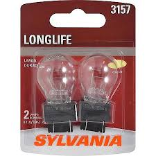 sylvania 3157 longlife mini bulb pack of 2 3157llbp2 advance