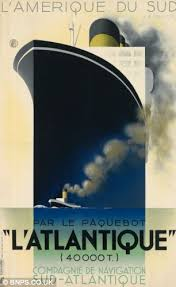 Poster Of LAtlantique From 1931 Valued