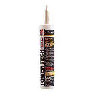 Tower Sealants Tower Tech 2 Acrylic Urethane Sealant - Limestone, 10.1oz
